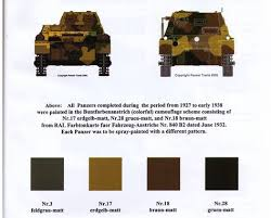 pin by anthony engracio on ww 2 german paint colors for armored