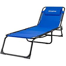Camping Lounge Chair Amazon Com Goplus Folding Chaise Lounge Chair Bed Outdoor Patio