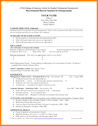 Sample Resume Format For Undergraduate Students by College Freshman Resume Template Sample Resume 2017 Undergraduate