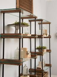 Kitchen Metal Shelves by Best 25 Glass Shelves Ideas On Pinterest Floating Glass Shelves