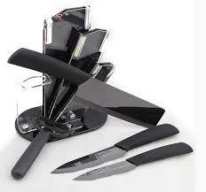 ceramic kitchen knives set kingart ceramic knife set zirconia kitchen knifeceramic black