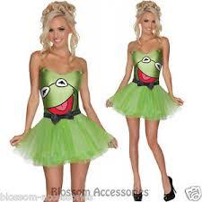 cl327 miss kermit frog secret wishes the muppets fancy dress
