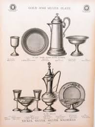 catholic catalog catalog page meriden britannia co communion sets cup silver
