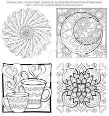 minimentals digital edition pdf coloring book suziq creations