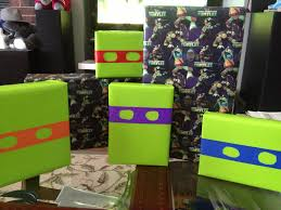 tmnt wrapping paper wrapping gifts 2sisterbears