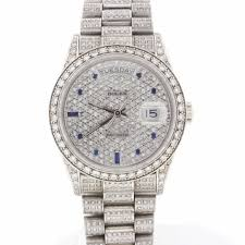 rolex bracelet white gold images Rolex president day date 18k white gold 36mm automatic mens watch jpg
