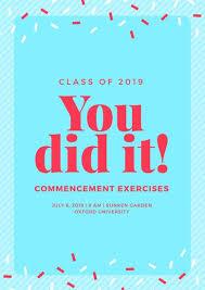 graduation poster customize 53 graduation poster templates online canva