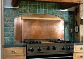 Decorative Tiles For Kitchen Backsplash Copper Tiles For Kitchen Backsplash Modern Looks Antique Copper