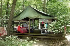 Building A Tent Platform Facilities Incarnation Camp Incarnation Camp