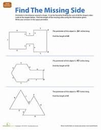 find the area of a rectangle easy geometry worksheets