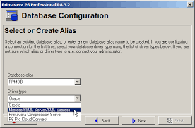 membuat database admin dengan xp setting up a p6 professional standalone client using sql server