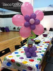 hello centerpieces balloon centerpieces my deco balloon