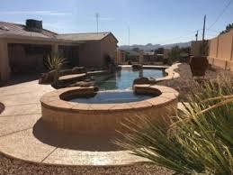 pool house with beach entry swim up bar lake havasu city best