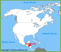 america map honduras honduras location on the america map