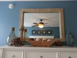decorating decorative diy mirror idea with wood frames above