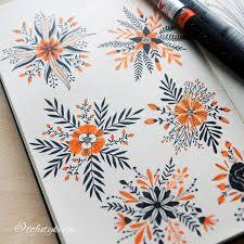 Flower Designs On Paper The 25 Best Doodle Flowers Ideas On Pinterest Doodle Ideas