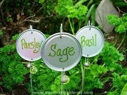 garden markers 20 creative diy plant labels markers the micro gardener
