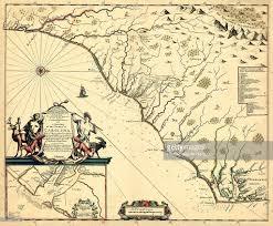 Nc State Map North Carolina 1682 North Carolina And South Carolina State Map
