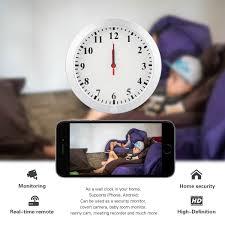amazon com kamre hd 1080p wifi wall clock hidden spy camera