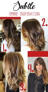 does hair look like ombre when highlights growing out love 3 subtle ombre inspiration caramel light brown ombre