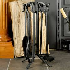 5 piece black rustic mini fireplace tool set f 1126 northline