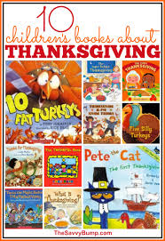 10 children s books about thanksgiving the savvy bump