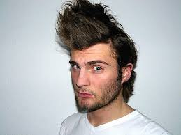 spiked looks for medium hair spiky hairstyles for men dense medium hair styles ideas 8810