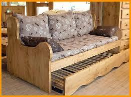 canapé gigogne montagne canapé lit style montagne maison et mobilier d intérieur