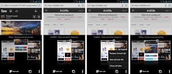 opera browser for android managing your tabs is just a tap away - All Tabs Android Browser