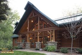 golden eagle log homes log home cabin pictures photos front entry