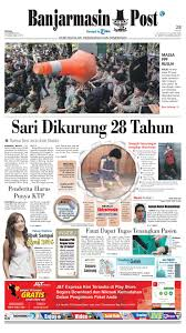 banjarmasin post selasa 29 desember 2015 by banjarmasin post issuu
