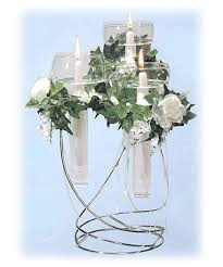 3 tiered floating candle centerpiece national artcraft