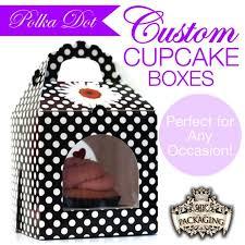 polka dot boxes polka dot cupcake box by 24 k packaging catch my party