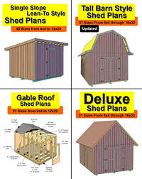 Buy Blueprints Deluxe Gable Shed Plans 9 95
