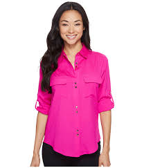 ivanka blouse lowest price ivanka tops button blouse womens fuchsia