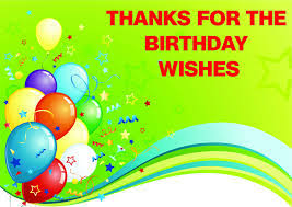 thanks for birthday wishes excellent thanks messages for birthday