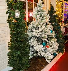 decorated trees for sale stock image image of luminous