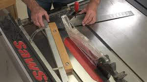 How To Set A Table Properly by Setting Up A Table Saw Taper Jig Properly Wwgoa