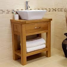 Valencia Bathroom Furniture 50 Rustic Oak Vanity Unit 700mm With Basin Sink Tap Valencia