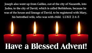 blessed advent ecard free cards