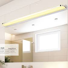 Stainless Steel Bathroom Mirror by Modern Bathroom Mirror Light Anti Fog Front Lamp Mini Style