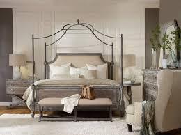 Eastern Accents Bedset Hooker Furniture True Vintage Canopy Customizable Bedroom Set