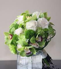 flowers to go brilliant green collection bridal flowers to go