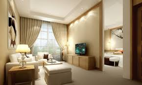 Living Room Ideas With Cream Leather Sofa Fancy Ideas For Your Beige Wall Painting Themed Living Room Design