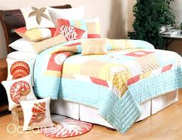 Beachy Comforters Sets Beach Themed Quilt Patterns Beach Themed Sheets Beach Themed