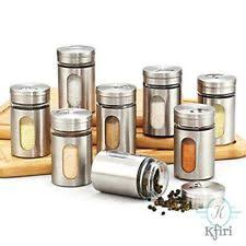 stainless steel kitchen canisters stainless steel canister ebay