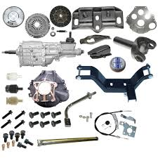 mustang t5 transmission conversion kit deluxe 289 302 351 1968