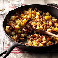 sausage hash recipe taste of home