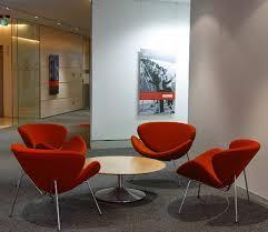 Office Reception Chairs Orange Slice Chair Office Reception Furniture Interior Classics