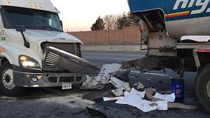 Fuel Truck Driver Driver Hurt After Tractor Trailer Hits Fuel Delivery Truck On I